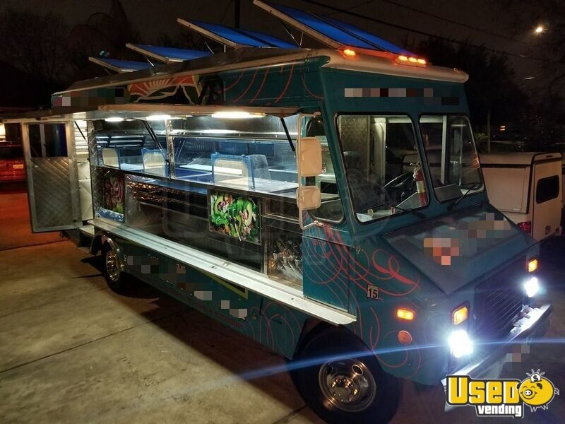 1994 Chevy Step Van P30 Food Truck Slide-top Cooler Texas Gas Engine for Sale - 6