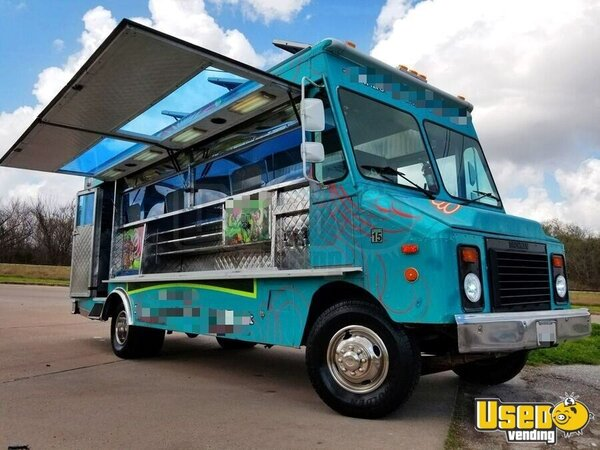 1994 Chevy Step Van P30 Food Truck Texas Gas Engine for Sale