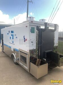 1994 Grumman Barbecue Food Truck Barbecue Food Truck Concession Window Texas Gas Engine for Sale