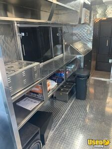 1994 Grumman Barbecue Food Truck Barbecue Food Truck Fresh Water Tank Texas Gas Engine for Sale