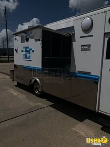 1994 Grumman Barbecue Food Truck Barbecue Food Truck Spare Tire Texas Gas Engine for Sale