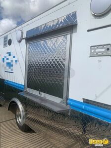 1994 Grumman Barbecue Food Truck Barbecue Food Truck Stainless Steel Wall Covers Texas Gas Engine for Sale
