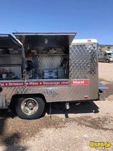 1994 Lunch Serving Food Truck Lunch Serving Food Truck Stainless Steel Wall Covers Arizona Gas Engine for Sale