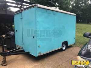 1994 Shaved Ice Concession Trailer Snowball Trailer Air Conditioning Tennessee for Sale