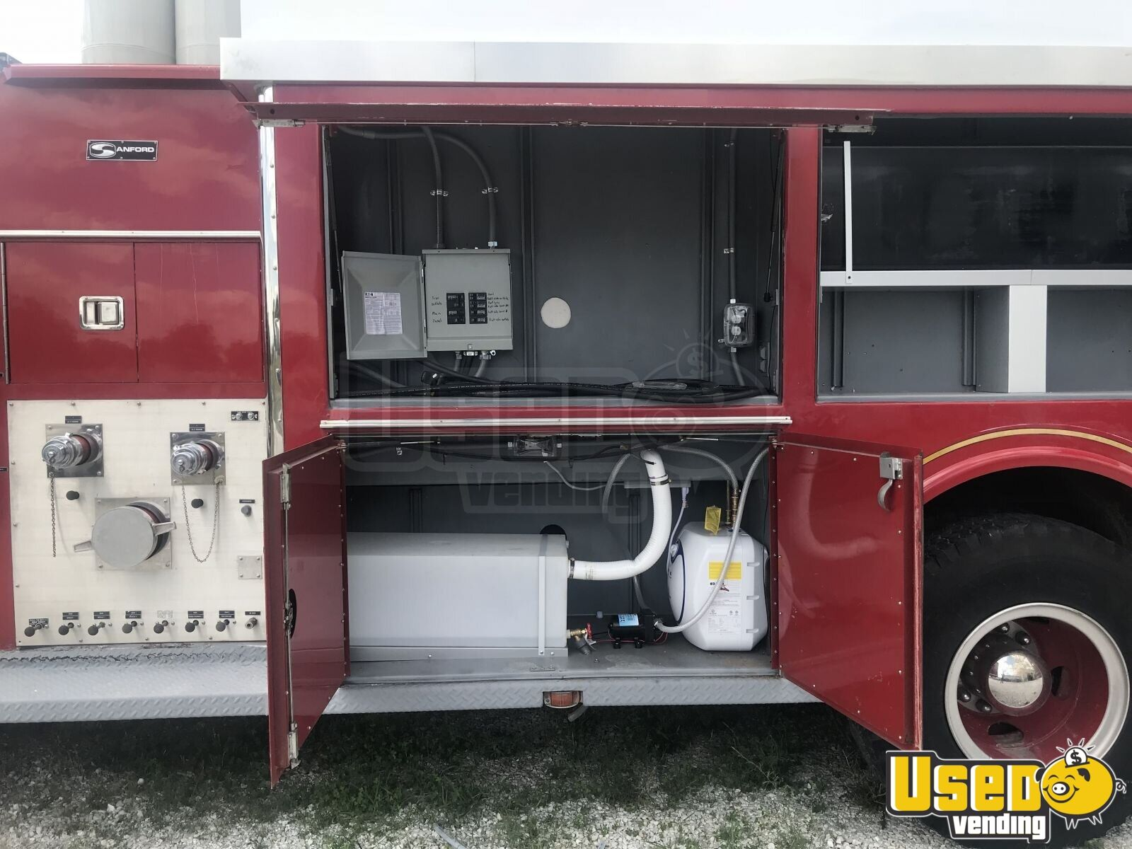 1995 All-purpose Food Truck 21 Missouri Diesel Engine for Sale - 21