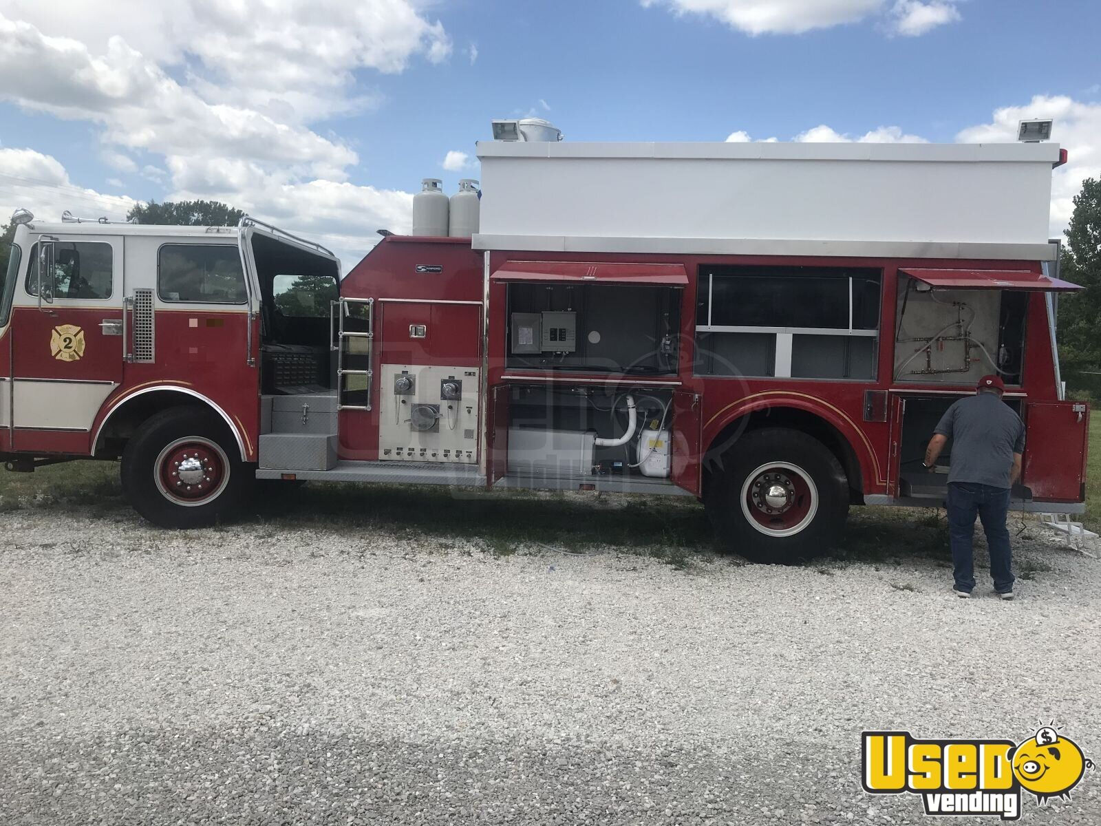 1995 All-purpose Food Truck Fresh Water Tank Missouri Diesel Engine for Sale - 16