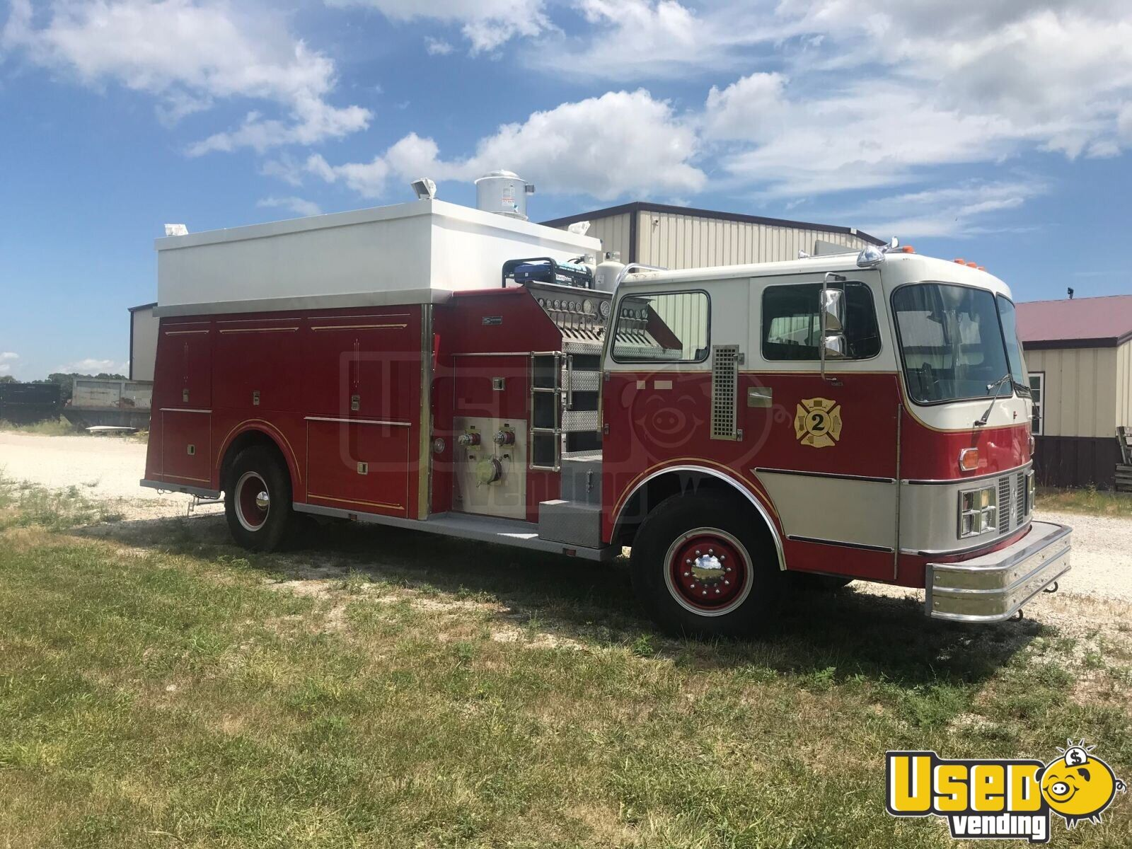 1995 All-purpose Food Truck Gfi Outlets Missouri Diesel Engine for Sale - 11