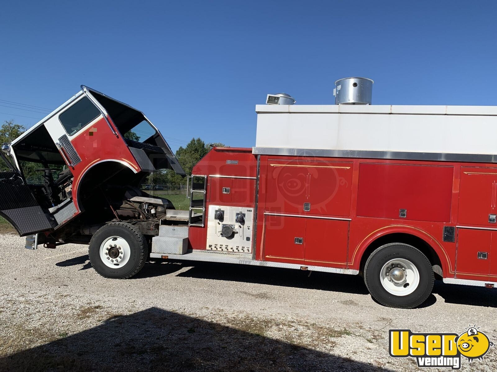 1995 All-purpose Food Truck Shore Power Cord Missouri Diesel Engine for Sale - 8