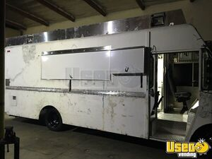 1995 Chevrolet Barbecue Food Truck Air Conditioning California Diesel Engine for Sale