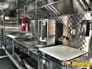 1995 Chevrolet Barbecue Food Truck Insulated Walls California Diesel Engine for Sale