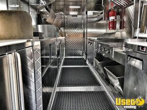 1995 Chevrolet Barbecue Food Truck Stainless Steel Wall Covers California Diesel Engine for Sale