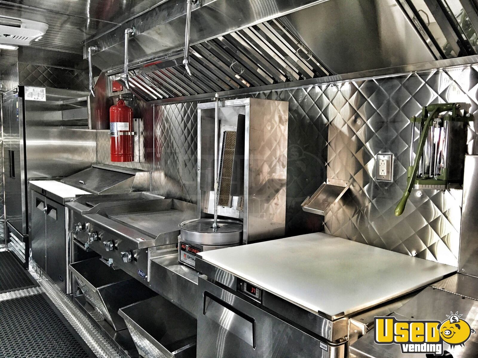 1995 Chevrolet Food Truck Insulated Walls California Diesel Engine for Sale - 6