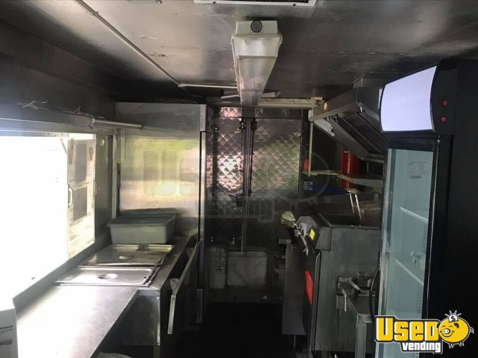 1995 Chevrolet P30 All-purpose Food Truck Stainless Steel Wall Covers Massachusetts Diesel Engine for Sale - 4
