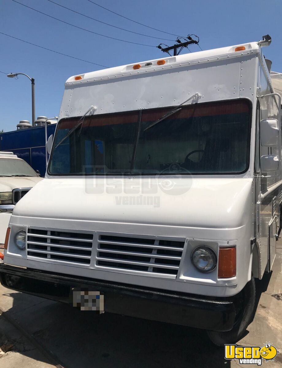 1995 Chevrolet Tx Food Truck Cabinets California Diesel Engine for Sale - 4
