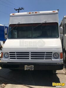 1995 Chevrolet Tx Food Truck Stainless Steel Wall Covers California Diesel Engine for Sale