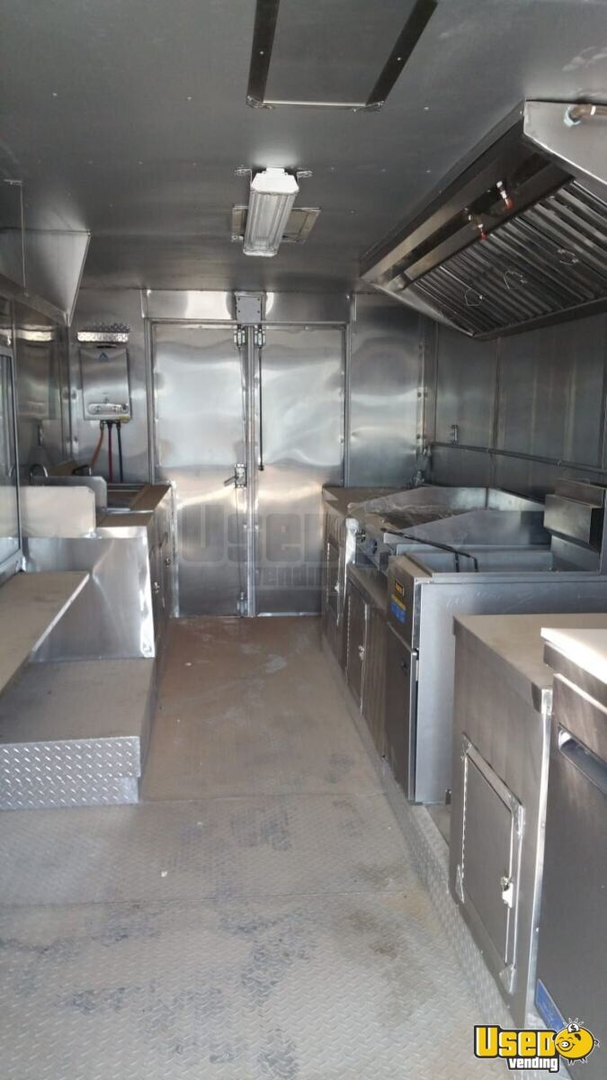 1995 Chevy All-purpose Food Truck Diamond Plated Aluminum Flooring Arizona Diesel Engine for Sale - 8