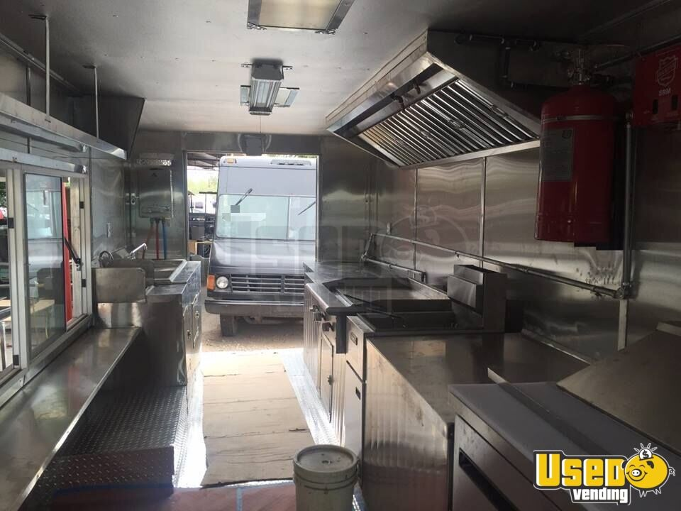 1995 Chevy All-purpose Food Truck Floor Drains Arizona Diesel Engine for Sale - 6
