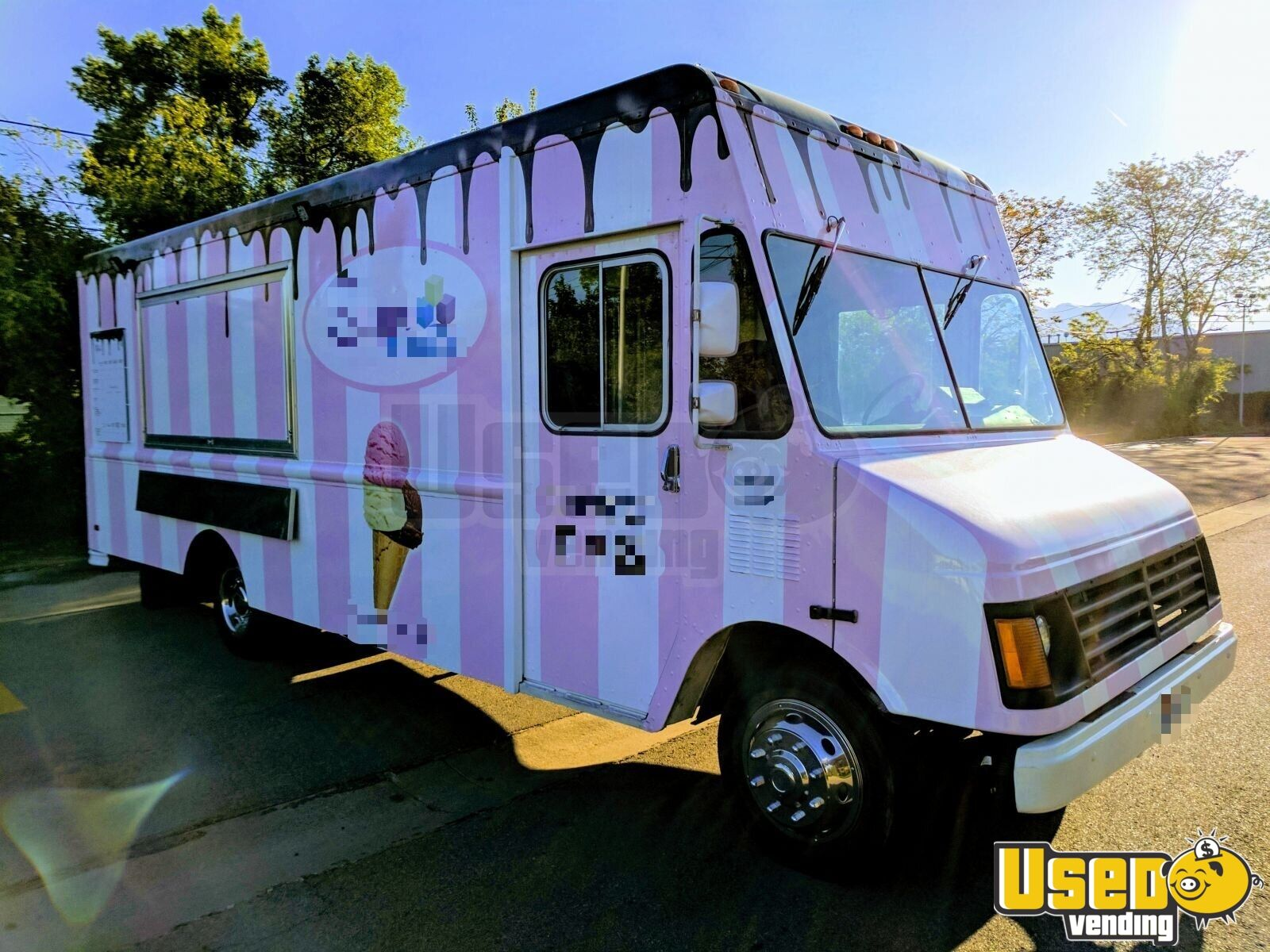 1995 Chevy P30 Food Truck Insulated Walls Utah Diesel Engine for Sale - 4
