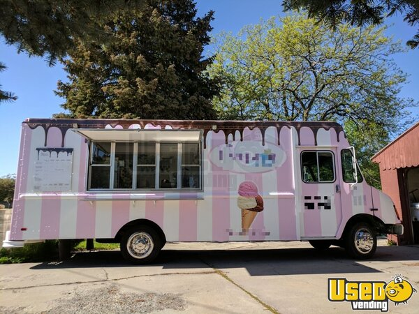 1995 Chevy P30 Ice Cream Truck Utah Diesel Engine for Sale