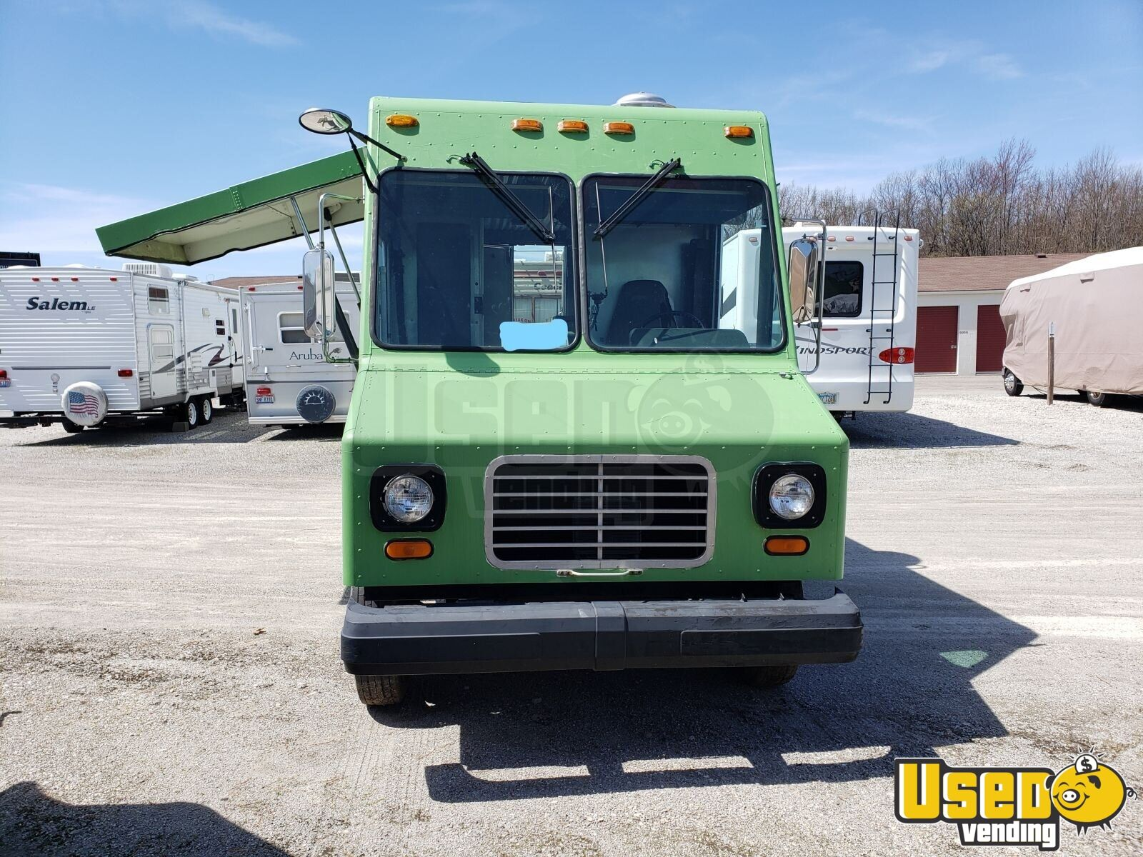 1995 Chevy P30 Utilimaster Food Truck Air Conditioning Ohio Diesel Engine for Sale - 2