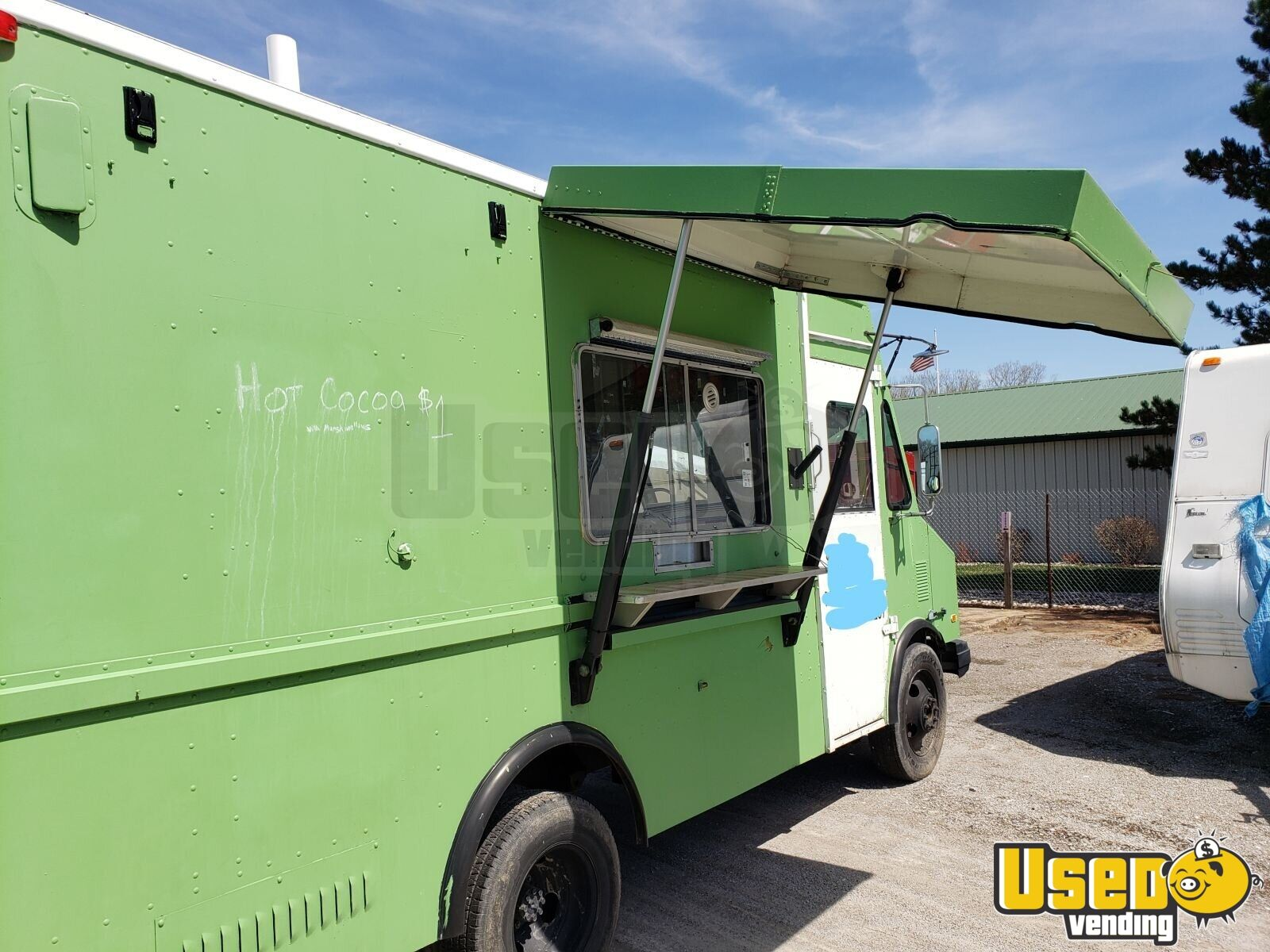 1995 Chevy P30 Utilimaster Food Truck Ohio Diesel Engine for Sale - 1