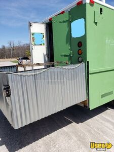 1995 Chevy P30 Utilimaster Food Truck Stainless Steel Wall Covers Ohio Diesel Engine for Sale