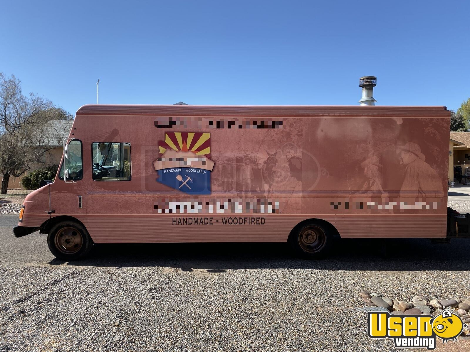 1995 Chevy Pizza Food Truck Concession Window Arizona Diesel Engine for Sale - 2