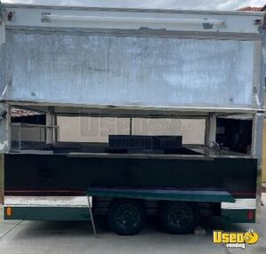 1995 Food Concession Trailer Concession Trailer Diamond Plated Aluminum Flooring Florida for Sale