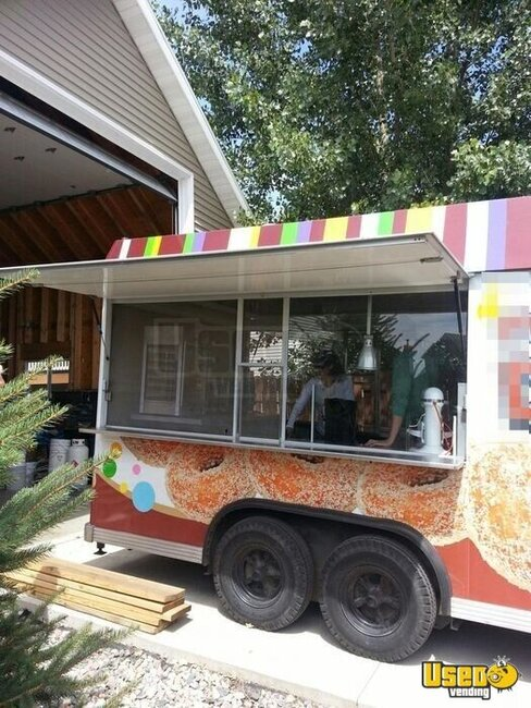 1995 Food Concession Trailer Concession Trailer North Dakota for Sale