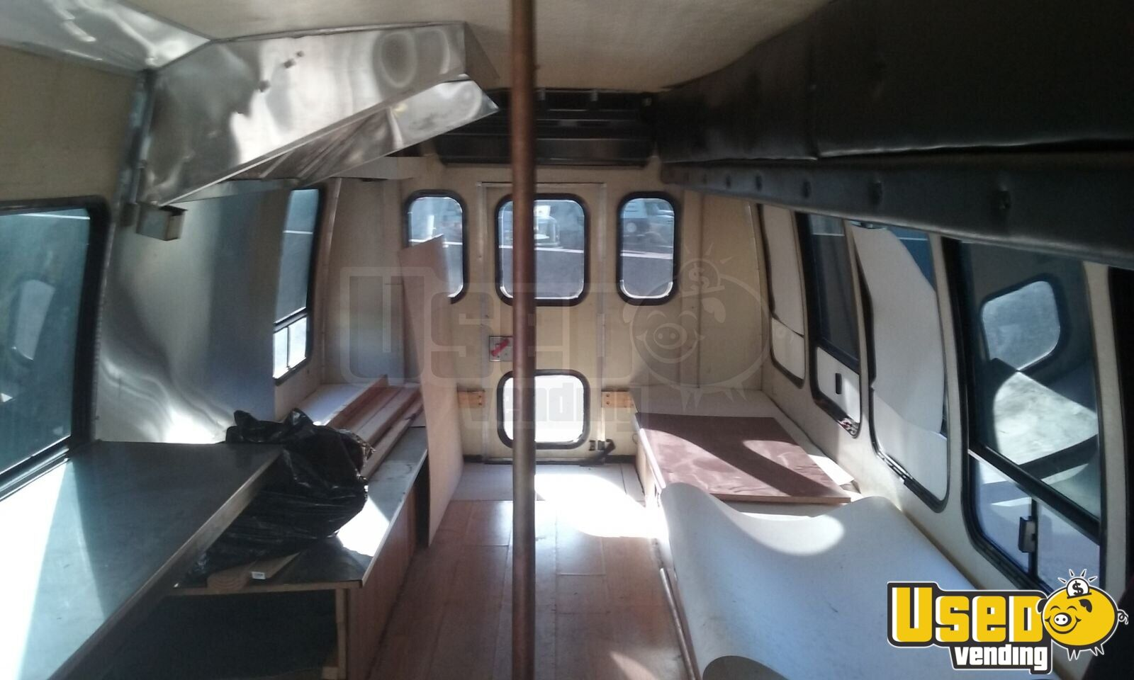 1995 Ford Econ Lt318 Food Truck Stainless Steel Wall Covers Arizona Diesel Engine for Sale - 5