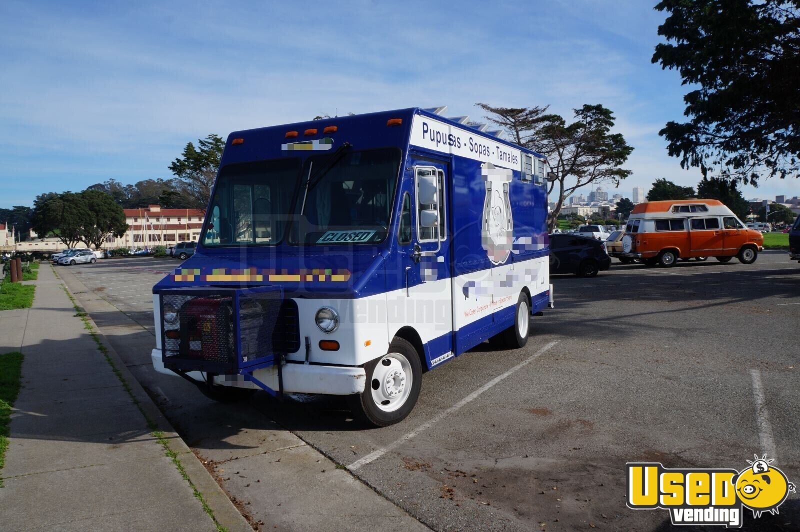 1995 Gmc All-purpose Food Truck Cabinets California Gas Engine for Sale - 3