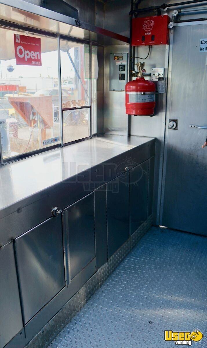 1995 Gmc All-purpose Food Truck Diamond Plated Aluminum Flooring California Gas Engine for Sale - 7