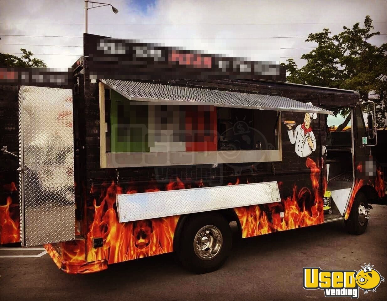 Gmc Pizza Truck Mobile Kitchen For Sale In Florida