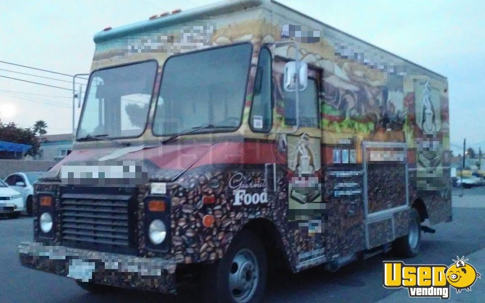 1995 Gmc Food Truck Prep Station Cooler California for Sale - 6