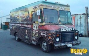 1995 Gmc Food Truck Refrigerator California for Sale
