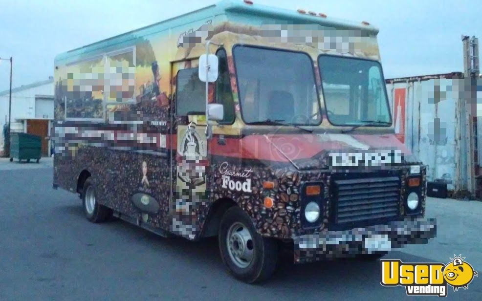 1995 Gmc Food Truck Refrigerator California for Sale - 5