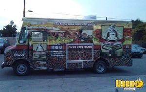 1995 Gmc Food Truck Work Table California for Sale