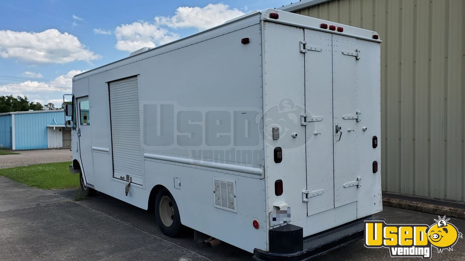 1995 P-30 Step Van Stepvan Air Conditioning Louisiana Gas Engine for Sale - 2