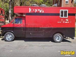 1995 Vandura 3500 Food Truck All-purpose Food Truck Concession Window Virginia Gas Engine for Sale