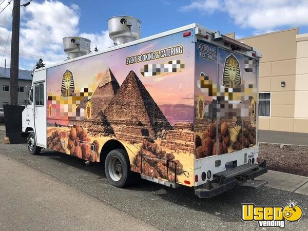 1996 27' Step Van Kitchen Food Truck All-purpose Food Truck Washington for Sale