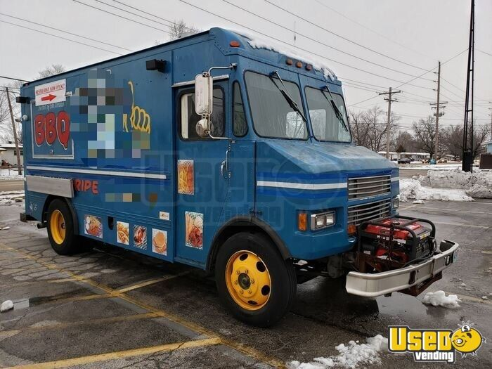 1996 All-purpose Food Truck Concession Window Missouri Diesel Engine for Sale - 3