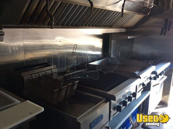 1996 All-purpose Food Truck Deep Freezer Arizona Diesel Engine for Sale - 7