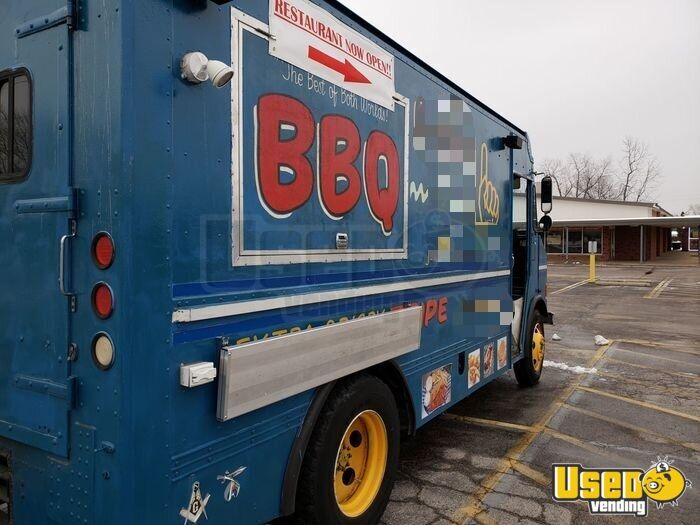 1996 All-purpose Food Truck Exterior Customer Counter Missouri Diesel Engine for Sale - 8