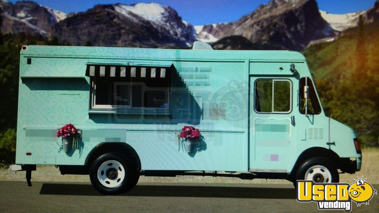 chevy food truck used food truck for sale in wyoming. Black Bedroom Furniture Sets. Home Design Ideas