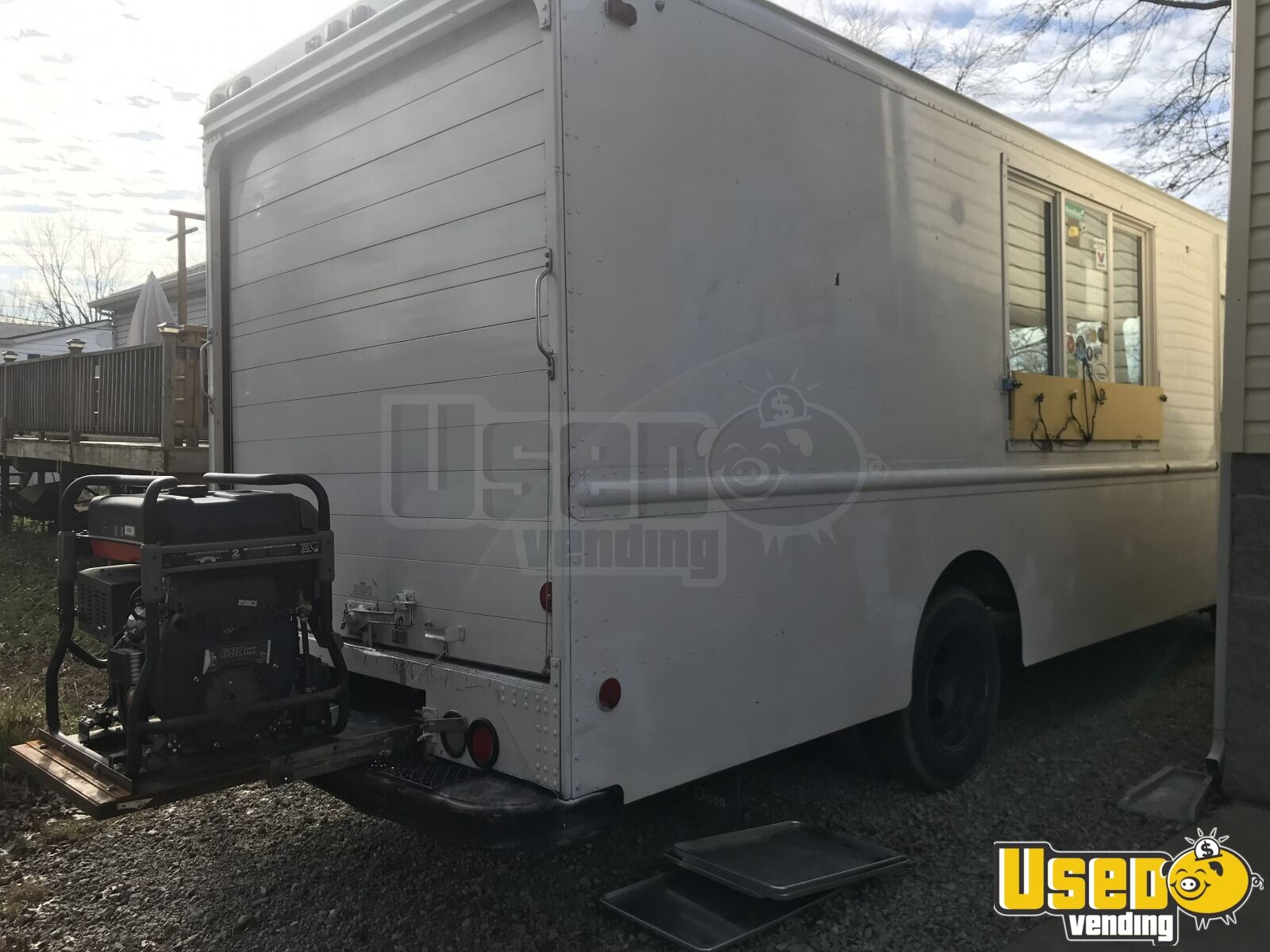 1996 Chevy Food Truck Air Conditioning Kentucky Diesel Engine for Sale - 2