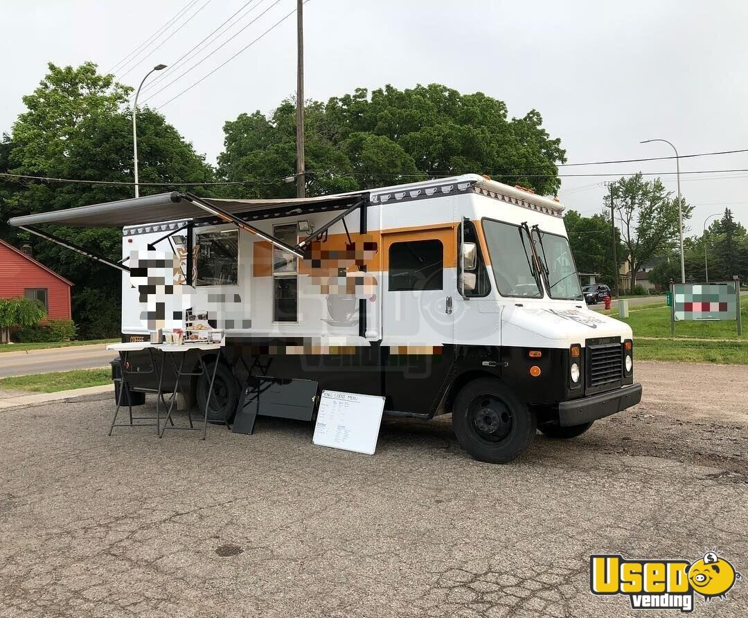 1996 Chevy Grumman Coffee Truck Concession Window Michigan Gas Engine for Sale - 2
