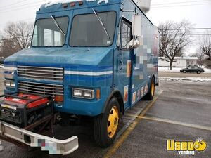 1996 Customized Kitchen Food Truck All-purpose Food Truck Exhaust Hood Missouri Diesel Engine for Sale