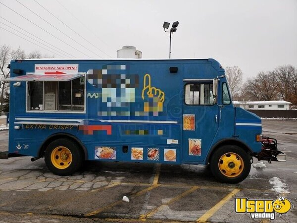 1996 Customized Kitchen Food Truck All-purpose Food Truck Propane Tank Missouri Diesel Engine for Sale
