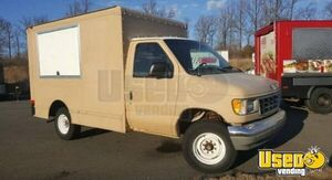 1996 E350 Food Truck All-purpose Food Truck Concession Window Maryland Gas Engine for Sale