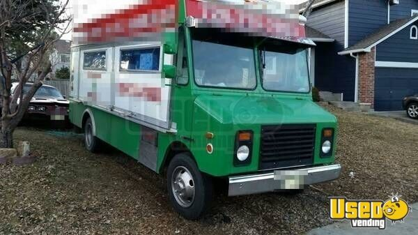 1996 Gmc Food Truck Colorado Gas Engine for Sale